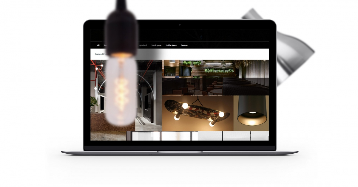 That Marketing Company_Ambience Lighting_Website