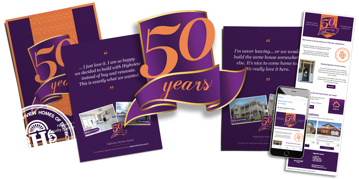 That-Marketing-Company_Highview-Homes_50-Year_collateral-WhiteBadge
